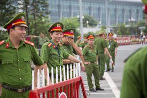 Hàng trăm cảnh sát bảo vệ lễ đón đội tuyển Olympic Việt Nam