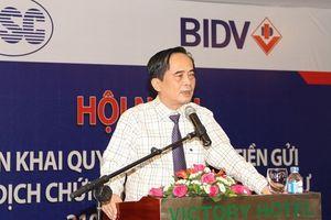 BIDV cho ông Đoàn Ánh Sáng thôi chức Phó Tổng Giám đốc