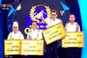 Nguyễn Hoàng Cường vô địch Đường lên đỉnh Olympia năm 2018