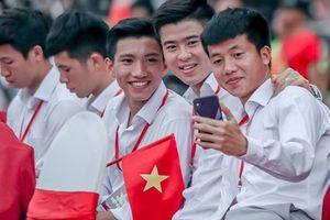 Đốn tim hình ảnh 'siêu cute' của tuyển thủ Olympic Việt Nam