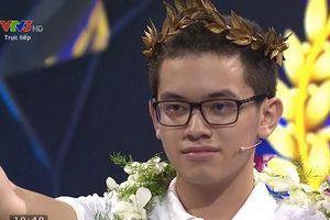 Kỷ lục gia Nguyễn Hoàng Cường vô địch Chung kết Đường lên đỉnh Olympia