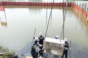 Quảng Ninh: Thí điểm xử lý ô nhiễm hồ Hùng Thắng bằng công nghệ Bakture