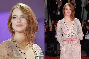 Emma Stone tỏa sáng với váy áo xuyên thấu trên thảm đỏ LHP Venice