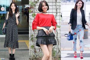 Học lỏm cách diện trang phục chớm thu đẹp ngất ngây như Yoona (SNSD)