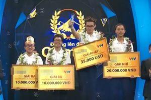'Lội dòng nước ngược' cực ngoạn mục, nam sinh Quảng Ninh đã xuất sắc ẵm trọn vòng nguyệt quế Olympia 2018