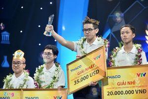 Học sinh Quảng Ninh trở thành tân vô địch Đường lên đỉnh Olympia 2018
