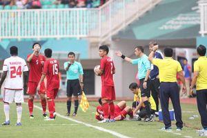 U23 Việt Nam thua UAE vì BTC ASIAD 18 chơi kiểu 'ao làng'