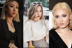 Đâu chỉ Văn Toàn, loạt hot girl Việt cũng chất lừ khi thử nhuộm tóc màu bạch kim