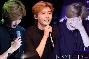Lee Jong Suk nghẹn khóc tại fan-meeting (01/09) - 4 giờ sáng đăng clip đánh piano cảm ơn người hâm mộ