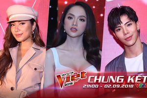 Hoa hậu Hương Giang, ERIK, Đồng Ánh Quỳnh 'đổ bộ' thảm đỏ chung kết The Voice 2018