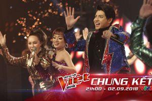 Chung Kết The Voice 2018: Noo Phước Thịnh cùng học trò tái hiện hit thập niên 80, cả trường quay như vỡ òa trong cảm xúc