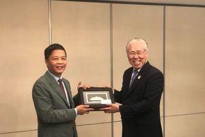 Các hoạt động song phương của Bộ trưởng Trần Tuấn Anh bền lề Hội nghị AEM 50, RCEP và các Hội nghị liên quan tại Singapore