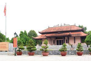 Khu Văn hóa tưởng niệm Chủ tịch Hồ Chí Minh được xếp hạng di tích cấp tỉnh
