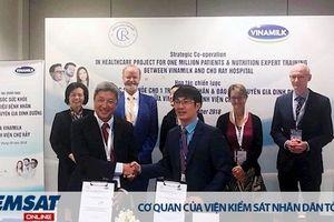 Vinamilk- Bệnh viện Chợ Rẫy kí kết hợp tác chiến lược nâng tầm quốc tế