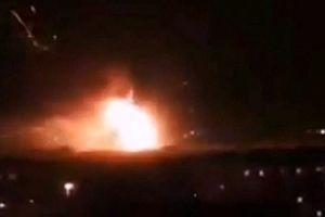 Nổ lớn tại căn cứ không quân ở Damascus (Syria)