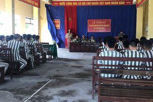 Ninh Bình: 27 phạm nhân được giảm án, tha tù trước thời hạn