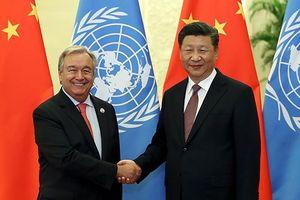 Chủ tịch Trung Quốc gặp Tổng Thư ký Liên Hợp Quốc