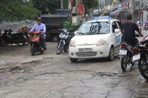 Con đường khổ ải ở phường Vĩnh Hưng, quận Hoàng Mai