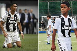 Ronaldo con lấy lại danh tiếng cho cha
