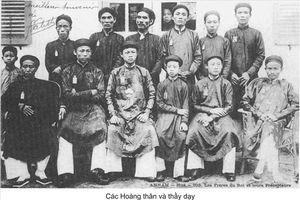 Lễ khai giảng dưới triều Nguyễn xưa