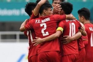 Olympic Việt Nam lập thành tích ghi bàn đáng nể tại ASIAD 18