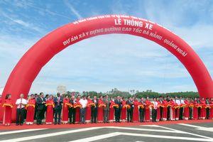 Thông xe 2 tuyến cao tốc Hạ Long - Hải Phòng và Đà Nẵng - Quảng Ngãi