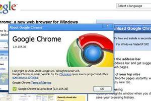 Trình duyệt Google Chrome tròn 10 năm tuổi