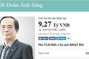 Phó Tổng Giám đốc Ngân hàng BIDV vừa bị cho thôi chức là ai?