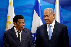 Tổng thống Philippines Duterte thăm Nhà nước Do Thái Israel