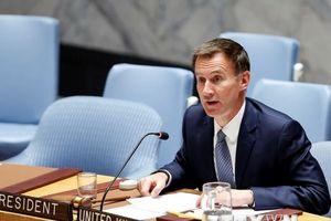 Ngoại trưởng Anh Jeremy Hunt tuyên bố sẽ sớm thăm Myanmar