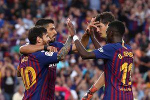 Kết quả, BXH bóng đá châu Âu đêm qua, rạng sáng nay (3/9): Barca thắng 8-2