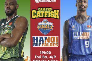 Finals Game 1 - Cantho Catfish vs Hanoi Buffaloes (4/9): 'Cá Basa' cửa trên, kỳ biến từ 'Trâu Thủ đô'?