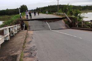 Hé lộ nguyên nhân sập cầu ở Bình Thuận