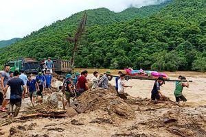 Thanh Hóa: Những hình ảnh đầu tiên về mưa lũ kinh hoàng tại Mường Lát