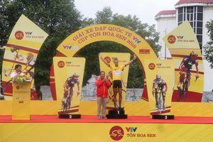 Giải đua xe đạp quốc tế VTV Cúp Tôn Hoa Sen 2018: Van der Pijl (NNCT-Lào) về nhất chặng Hà Nội – Thanh Hóa