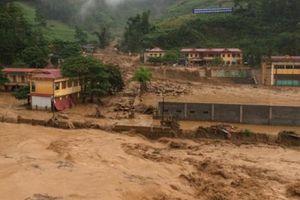 Cảnh báo lũ quét, sạt lở đất và ngập lụt