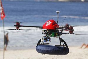 Israel ra mắt UAV cứu người chết đuối