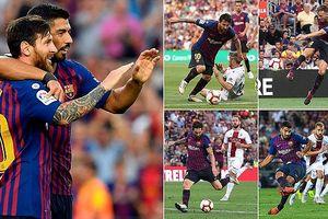 Lionel Messi tỏa sáng, Barca ghi 8 bàn vào lưới tân binh Huesca