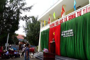 Trường Tiểu học xã Song Tử Tây đã sẵn sàng cho năm học mới
