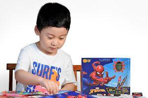 Truyền cảm hứng cho trẻ qua bộ dụng cụ học tập Spider-Man