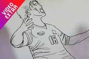 Chiêm ngưỡng bàn thắng của Minh Vương vào lưới Hàn Quốc qua Flipbook