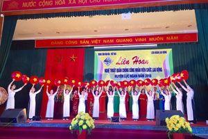 Bắc Giang: LĐLĐ huyện Lục Ngạn biểu diễn nghệ thuật chào mừng Đại hội XII Công đoàn VN
