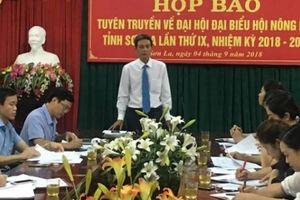 Sơn La: Đại hội đại biểu Hội Nông dân tỉnh diễn ra trong 2 ngày