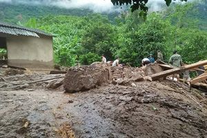 Nỗ lực khắc phục hậu quả mưa lũ