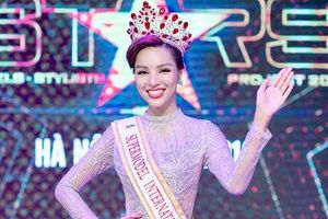 Cô gái chân dài 1,14m chính thức thi Siêu mẫu Quốc tế 2018