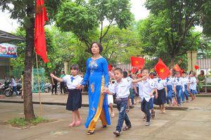 Sơn La: Trường học chủ động, linh hoạt trong tổ chức lễ khai giảng