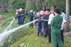 Đám cháy ở bán đảo Sơn Trà là do du khách bất cẩn