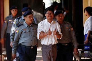 Myanmar tuyên án 2 phóng viên Reuters