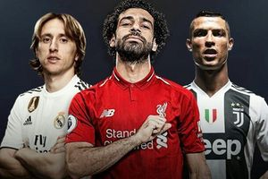 Messi mất hút, Ronaldo, Modric và Salah thống trị các giải thưởng cá nhân