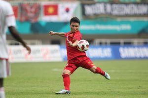 Quang Hải vào đội hình tiêu biểu ASIAD 2018